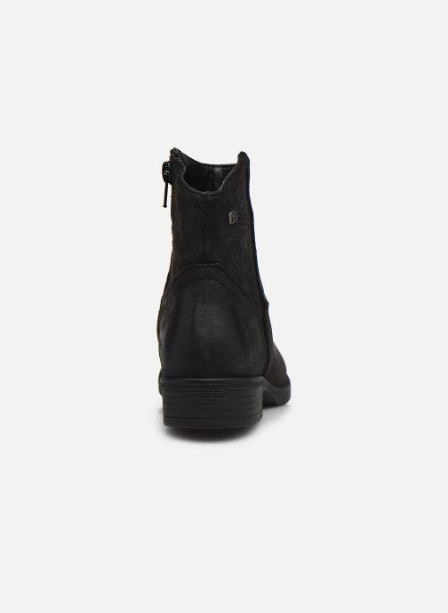 Bottines et boots MTNG 48077 Noir vue droite