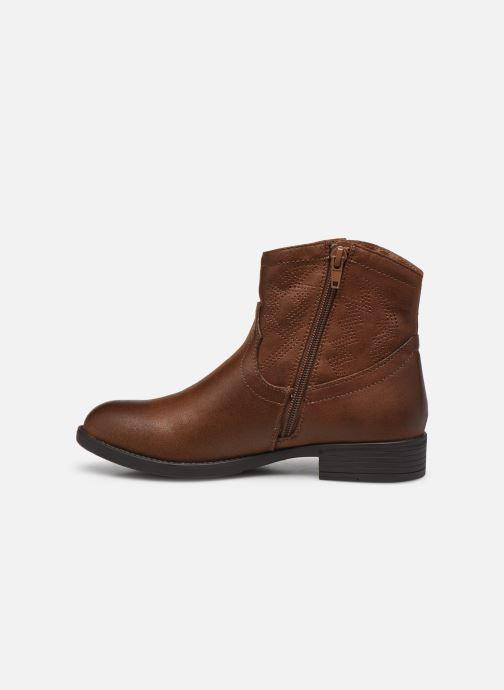 Bottines et boots MTNG 48077 Marron vue face