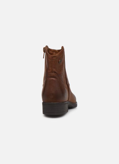 Bottines et boots MTNG 48077 Marron vue droite