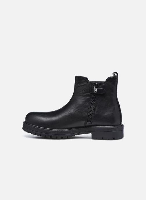 Boots en enkellaarsjes MTNG 48059 Zwart voorkant