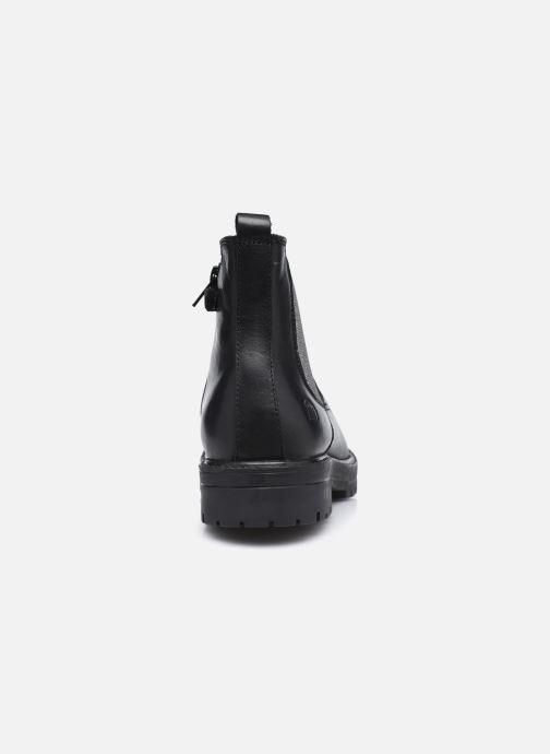Boots en enkellaarsjes MTNG 48059 Zwart rechts