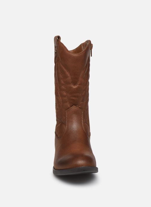 Bottes MTNG 48075 Marron vue portées chaussures