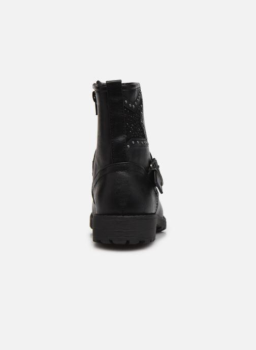 Bottines et boots MTNG 48082 Noir vue droite