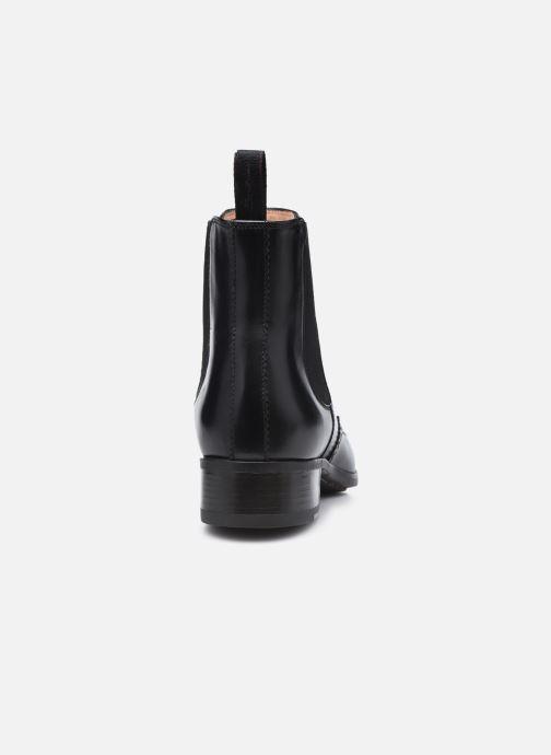 Stiefeletten & Boots Santoni ELOIDE schwarz ansicht von rechts