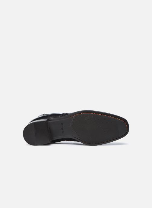 Stiefeletten & Boots Santoni ELOIDE schwarz ansicht von oben