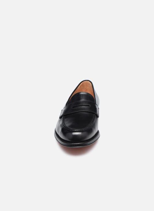 Loafers Santoni QUENTIN Sort se skoene på