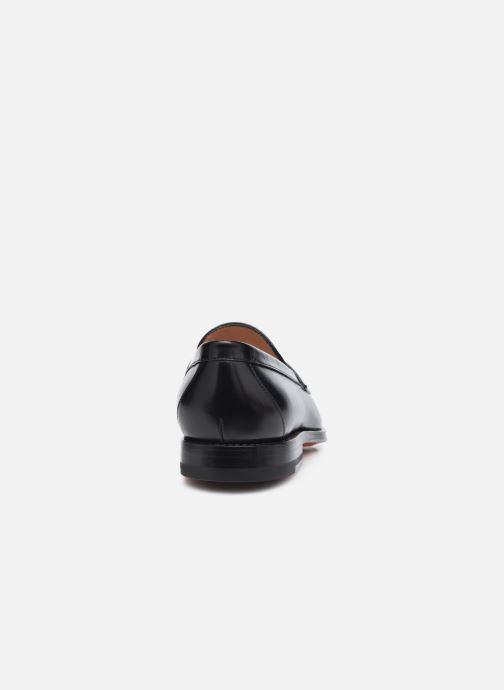 Loafers Santoni QUENTIN Sort Se fra højre