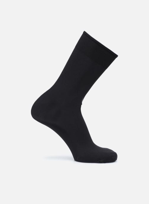 Chaussettes et collants Dim THERMO Mi-Bas Isolant 55D Noir vue portées chaussures
