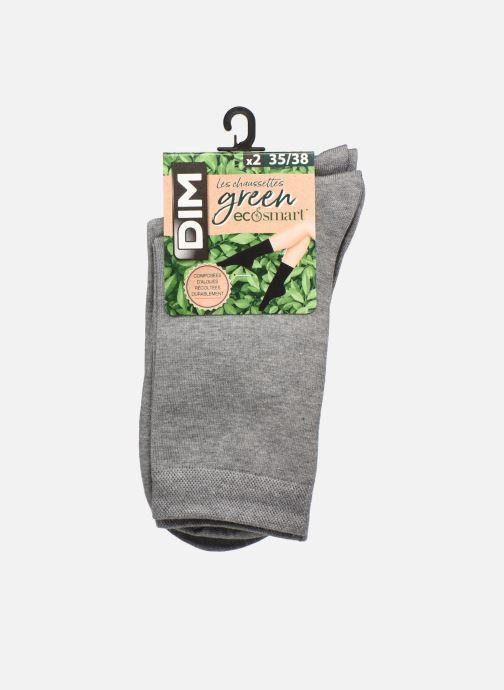 Sokken en panty's Dim GREEN ECOSMART MI CHAUSSETTE LOT DE 2 Grijs detail