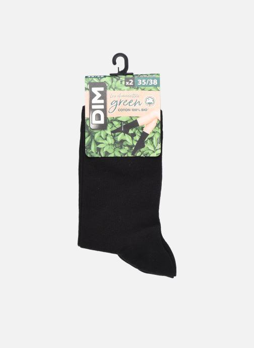 Socken & Strumpfhosen Dim GREEN COTON BIO MI CHAUSSETTE Lot de 2 schwarz detaillierte ansicht/modell