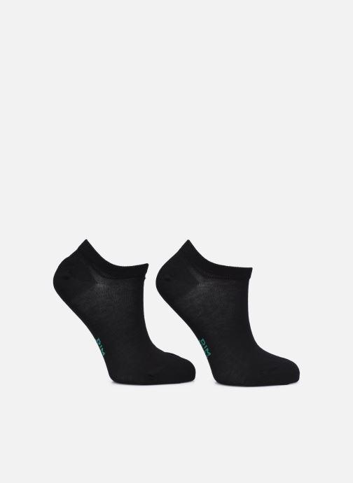 Socken & Strumpfhosen Dim GREEN COTON BIO SOCQUETTE COURTE Lot de 2 schwarz schuhe getragen