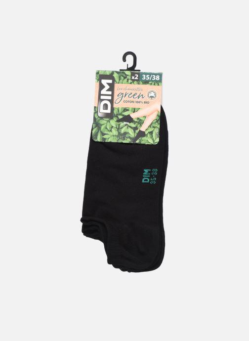 Socken & Strumpfhosen Dim GREEN COTON BIO SOCQUETTE COURTE Lot de 2 schwarz detaillierte ansicht/modell