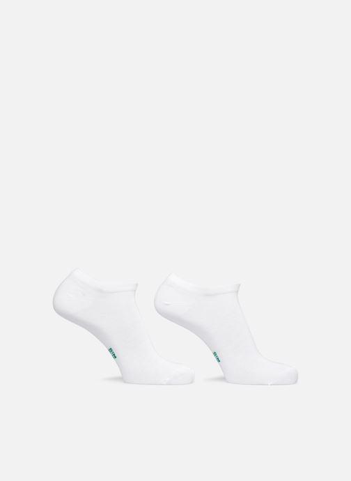 Calze e collant Dim GREEN COTON BIO MI SOCQUETTE COURTE Homme Lot de 2 Bianco modello indossato