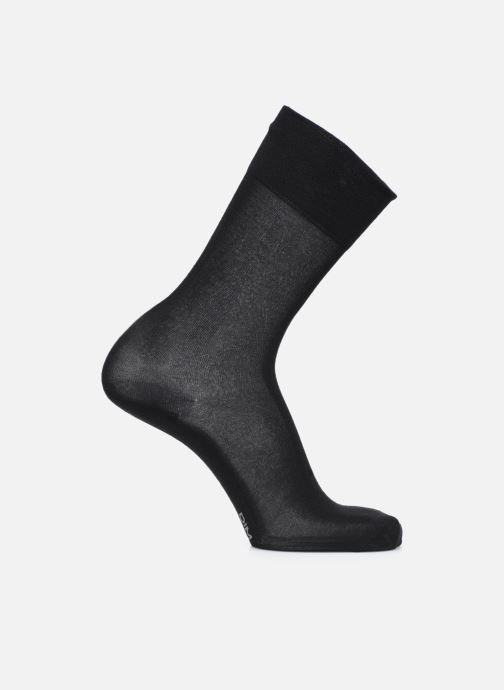 Chaussettes et collants Dim THERMO MI CHAUSSETTE Noir vue portées chaussures