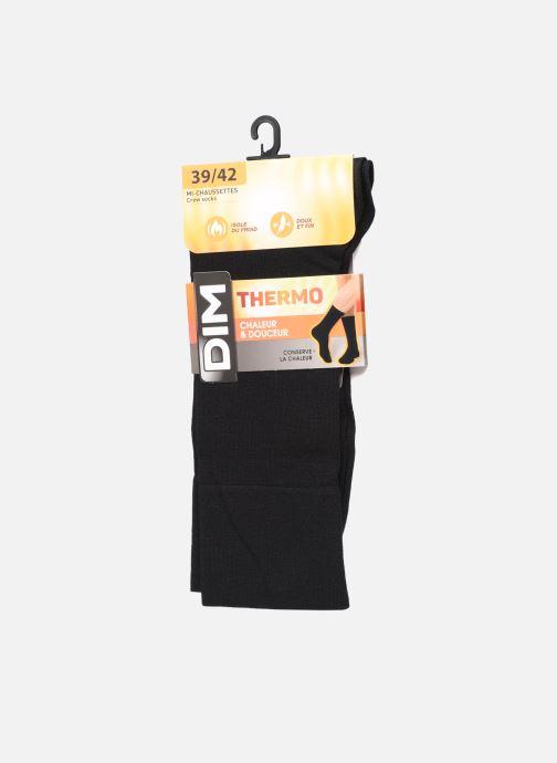 Chaussettes et collants Dim THERMO MI CHAUSSETTE Noir vue détail/paire
