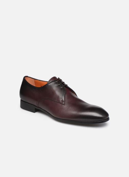 Zapatos con cordones Santoni Party Vino vista de detalle / par