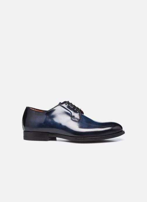 Scarpe con lacci Santoni NEW PORT Azzurro immagine posteriore