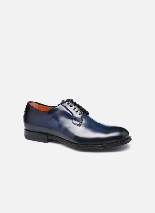 Scarpe con lacci Santoni NEW PORT Azzurro vedi dettaglio/paio