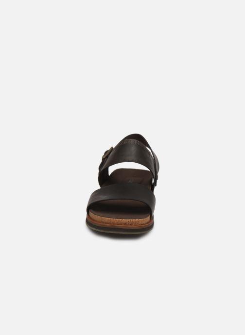 Sandalias Timberland Amalfi Vibes 2 Band Sandal Negro vista del modelo