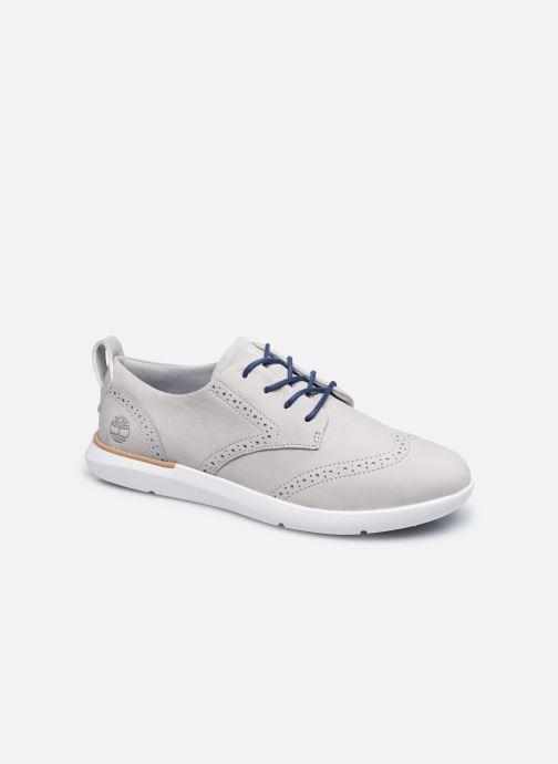 Chaussures à lacets Timberland Bradenton Oxford Gris vue détail/paire