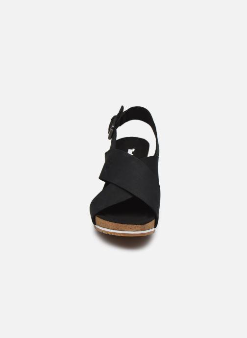 Sandalias Timberland Capri Sunset X-Band Sandal Negro vista del modelo