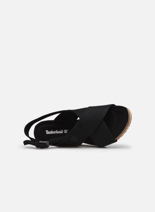 Sandalias Timberland Capri Sunset X-Band Sandal Negro vista lateral izquierda