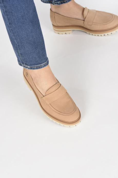 Mocasines Timberland London Square Slip On Marrón vista de abajo