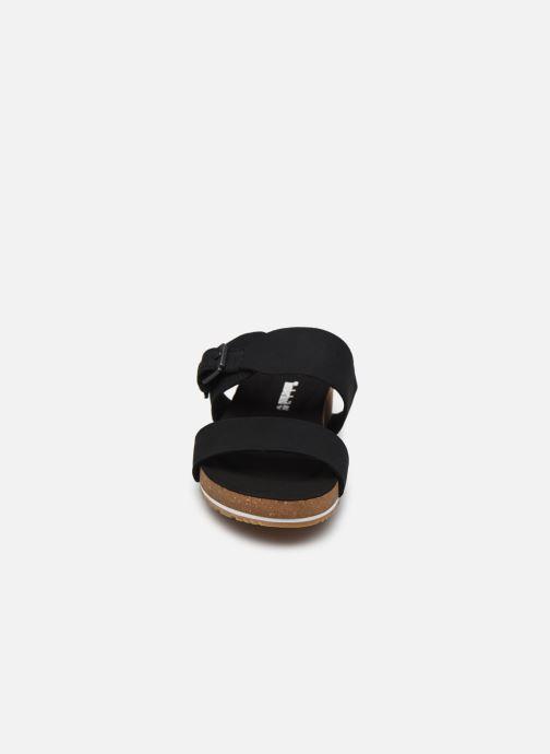 Clogs & Pantoletten Timberland Malibu Waves 2 Band schwarz schuhe getragen
