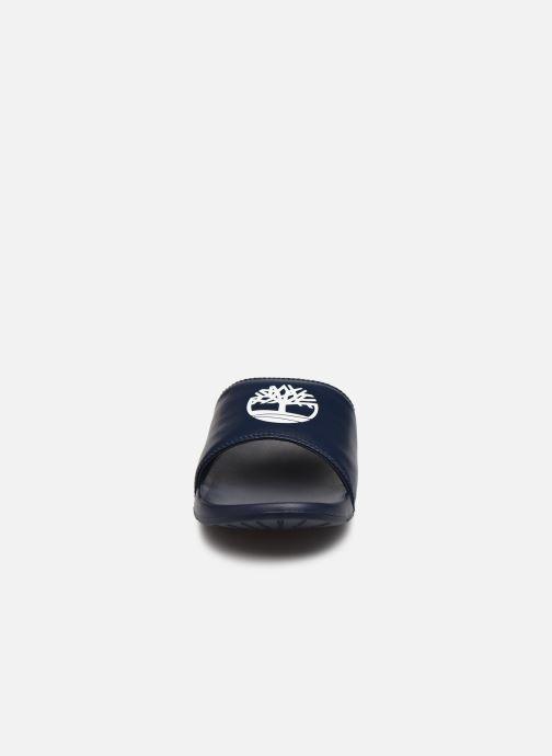 Sandalen Timberland Playa Sands Sports Slide blau schuhe getragen