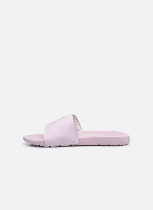 Clogs & Pantoletten Timberland Playa Sands Sports Slide W rosa ansicht von vorne
