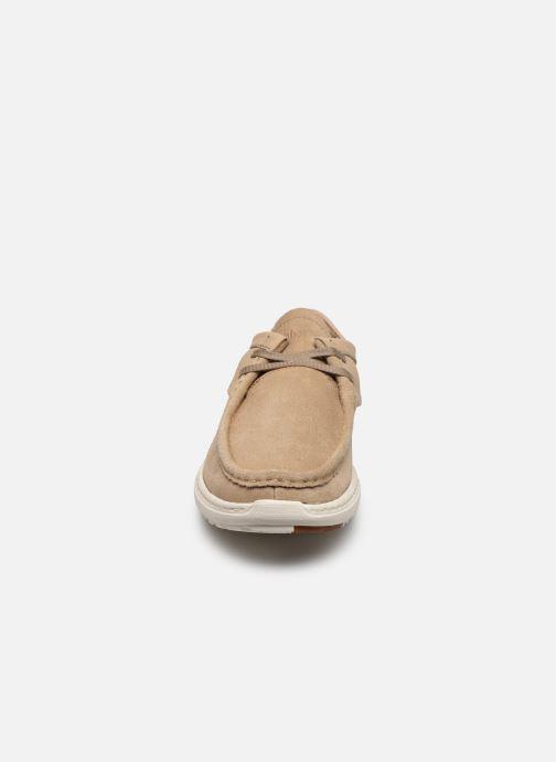 Sneaker Timberland Project Better 2 Eye Wallabee beige schuhe getragen