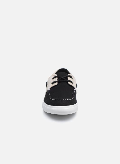 Zapatos con cordones Timberland Union Wharf F/L 2 Eye Boat Negro vista del modelo