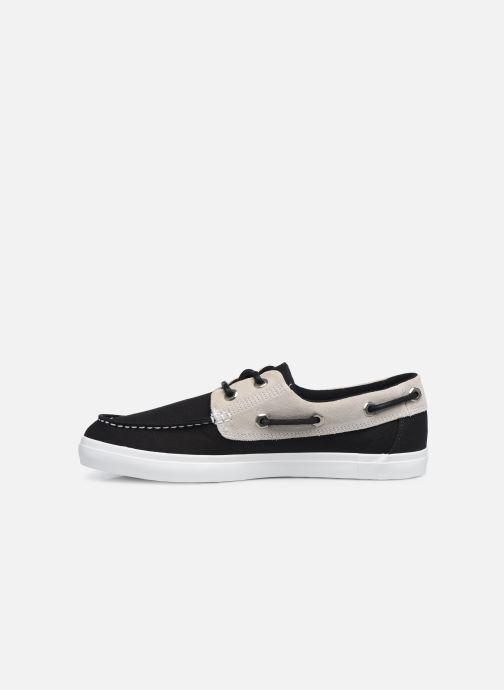 Zapatos con cordones Timberland Union Wharf F/L 2 Eye Boat Negro vista de frente