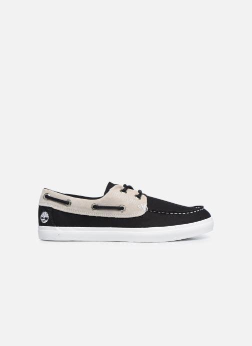 Zapatos con cordones Timberland Union Wharf F/L 2 Eye Boat Negro vistra trasera