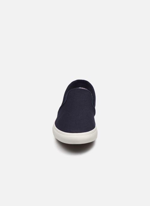 Sneaker Timberland Union Wharf Plain Toe Slip On blau schuhe getragen