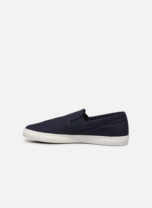 Sneaker Timberland Union Wharf Plain Toe Slip On blau ansicht von vorne