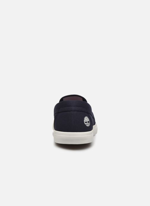 Sneaker Timberland Union Wharf Plain Toe Slip On blau ansicht von rechts