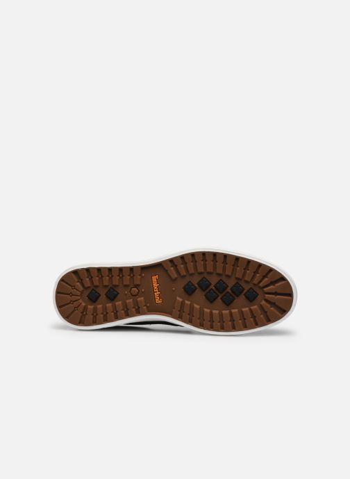 Sneaker Timberland Union Wharf Plain Toe Slip On schwarz ansicht von oben