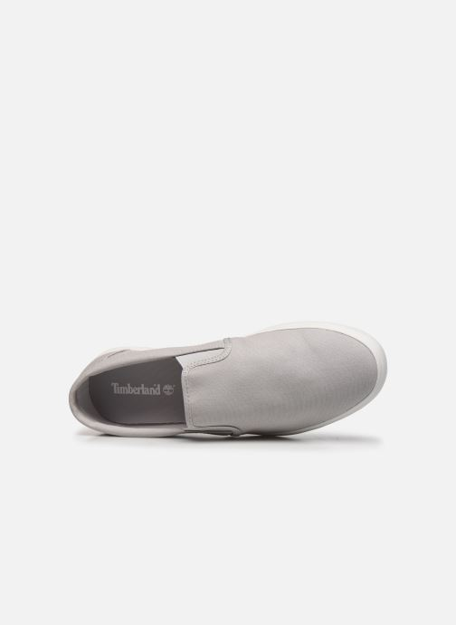 Sneaker Timberland Union Wharf Plain Toe Slip On grau ansicht von links