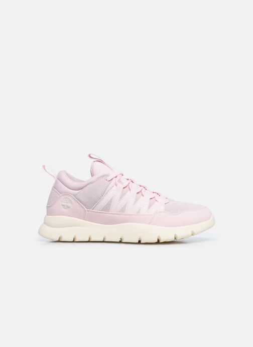 Sneaker Timberland Boroughs Project Mixed Super Oxford rosa ansicht von hinten