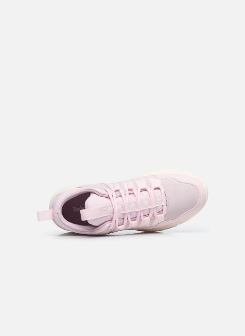 Sneaker Timberland Boroughs Project Mixed Super Oxford rosa ansicht von links