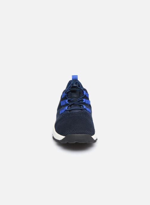 Sneaker Timberland Brooklyn Flexi Knit Ox blau schuhe getragen