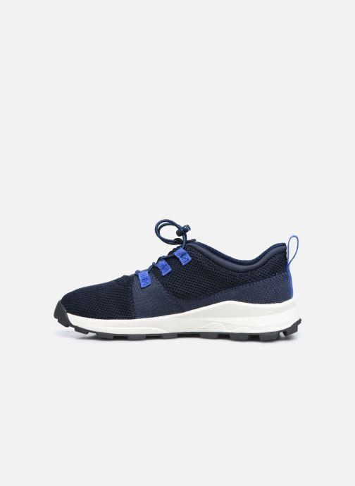 Sneaker Timberland Brooklyn Flexi Knit Ox blau ansicht von vorne