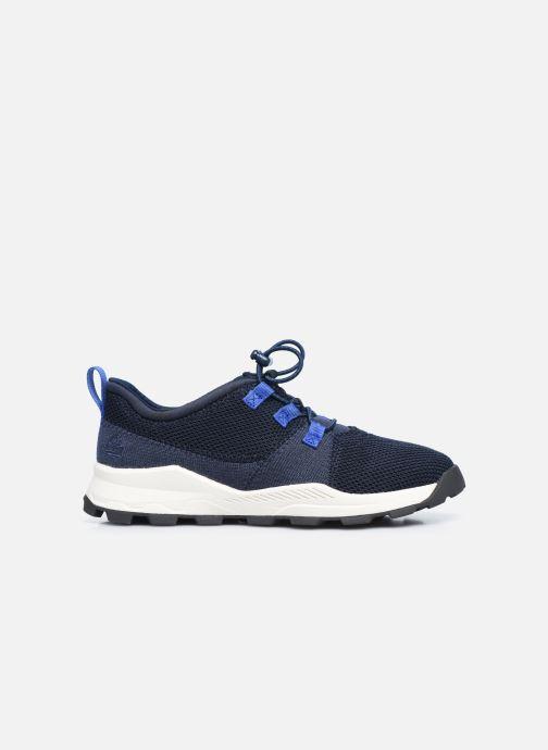 Sneaker Timberland Brooklyn Flexi Knit Ox blau ansicht von hinten