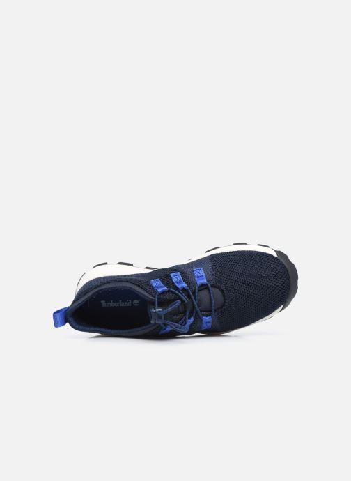 Sneaker Timberland Brooklyn Flexi Knit Ox blau ansicht von links