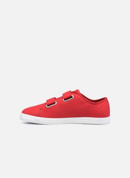 Sneaker Timberland Newport Bay Canvas 2 Strap Ox rot ansicht von vorne