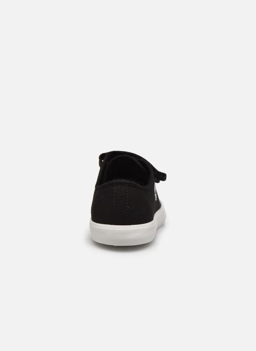 Sneaker Timberland Newport Bay Canvas 2 Strap Ox schwarz ansicht von rechts