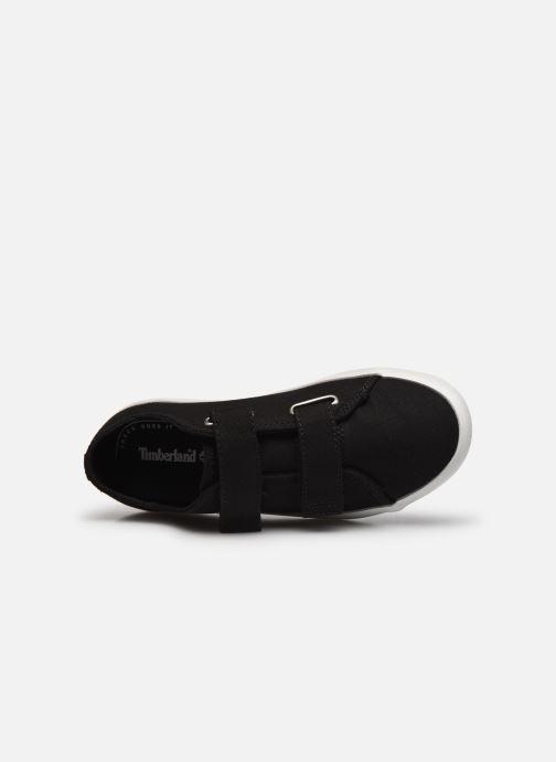 Sneaker Timberland Newport Bay Canvas 2 Strap Ox schwarz ansicht von links