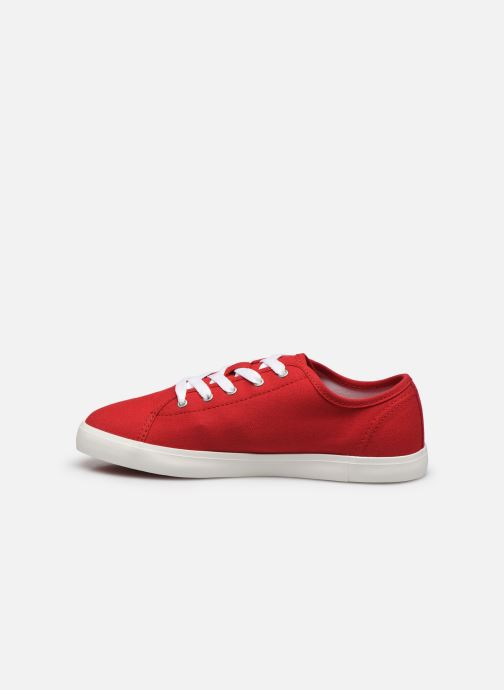 Sneakers Timberland Newport Bay Canvas Ox Rood voorkant