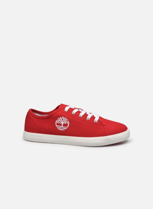 Sneakers Timberland Newport Bay Canvas Ox Rood achterkant